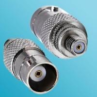 BNC Female to 10-32 M5 Female RF Adapter