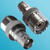 BNC Female to UHF SO239 Female RF Adapter