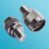 F Female to N Male RF Adapter