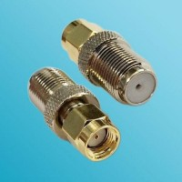 F Female to RP SMA Male RF Adapter