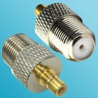 F Female to SMB Male RF Adapter
