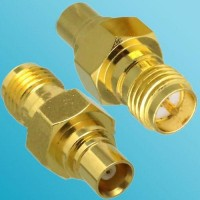 MCX Female to RP SMA Female RF Adapter