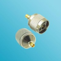 MCX Female to N Male RF Adapter