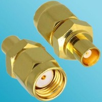 MCX Female to RP SMA Male RF Adapter