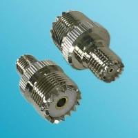 Mini UHF Female to UHF SO239 Female RF Adapter