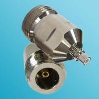 N Female to SMC Male RF Adapter