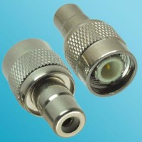 RCA Female to TNC Male RF Adapter