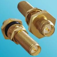 Long Bulkhead O-ring RP SMA Female to RP SMA Female RF Adapter