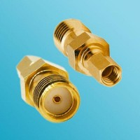 SMA Female to SSMC Female RF Adapter