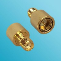 12G SMA Female to SMA Male Quick Push-on RF Adapter