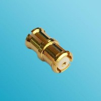 SMP Female to SMP Female RF Adapter