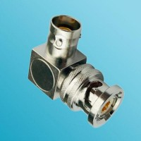 Right Angle TRB Female to TRB Male RF Adapter