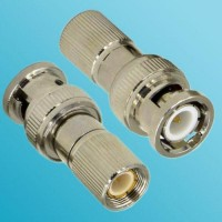 1.6/5.6 DIN Male to BNC Male RF Adapter