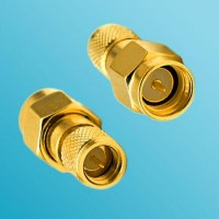 10-32 M5 Male to SMA Male RF Adapter