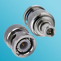 BNC Male to 10-32 M5 Male RF Adapter