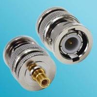BNC Male to SMB Male RF Adapter