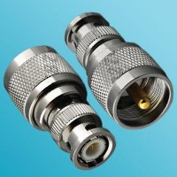 BNC Male to UHF PL259 Male RF Adapter