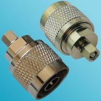 N Male to SMC Female RF Adapter