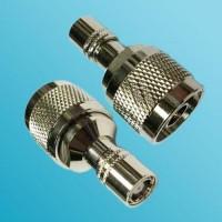 N Male to SMZ Female RF Adapter