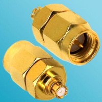 SMA Male to SMP Female RF Adapter