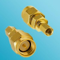 SMA Male to SSMC Female RF Adapter