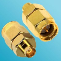 SMA Male to SMP Male RF Adapter