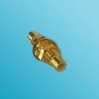 Bulkhead SMC Male to SMC Male RF Adapter
