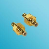 SMC Male to SMC Male RF Adapter