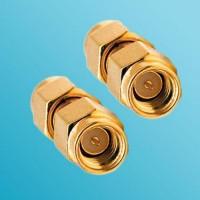 SSMA Male to SSMA Male RF Adapter