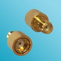 12G RP SMA Male Quick Push-on to SMA Female RF Adapter