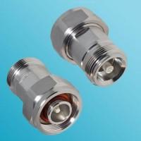 Low PIM 4.1/9.5 Mini DIN Female to 4.1/9.5 Mini DIN Male Adapter