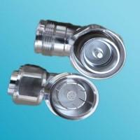 Low PIM R/A 4.3/10 Mini DIN Female to 4.3/10 Mini DIN Male Adapter