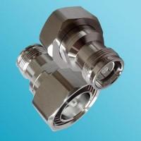 Low PIM 4.3/10 Mini DIN Female to 7/16 DIN Male Adapter