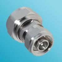 Low PIM 4.1/9.5 Mini DIN Male to 7/16 DIN Male Adapter