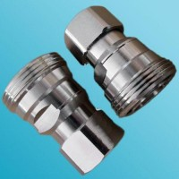 Low PIM 4.3/10 Mini DIN Male to 7/16 DIN Female Adapter