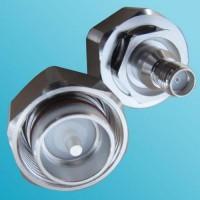 Low PIM 4.3/10 Mini DIN Male to SMA Female Adapter