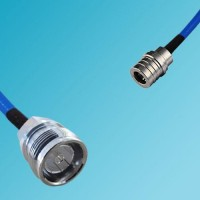 4.3/10 DIN Female to QMA Male Semi-Flexible Cable