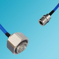 4.3/10 DIN Male to QMA Male Semi-Flexible Cable