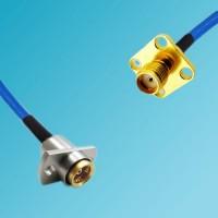 BMA 2 Hole Female to SMA 4 Hole Female Semi-Flexible Cable