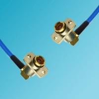 BMA 2 Hole Female R/A to BMA 2 Hole Female R/A Semi-Flexible Cable