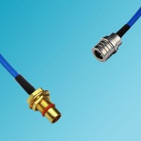 BMA Bulkhead Male to QMA Male Semi-Flexible Cable