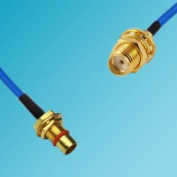 BMA Bulkhead Male to SMA Bulkhead Female Semi-Flexible Cable