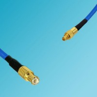 MCX Male to MMCX Male Semi-Flexible Cable