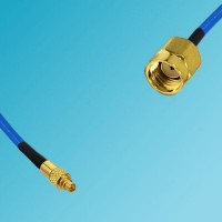 MMCX Male to RP SMA Male Semi-Flexible Cable