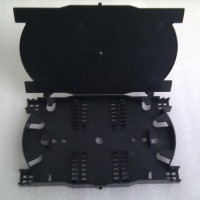 24 Fiber Splice Tray/Cassette Black Color