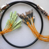 12 Strand FC SC 50 Multimode Outdoor Waterproof Patch Cable