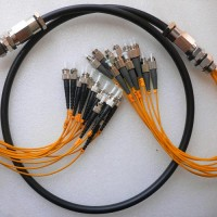 12 Strand FC ST 50 Multimode Outdoor Waterproof Patch Cable